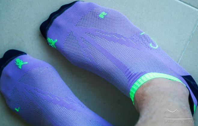Fibra muy suave y ajustada en Sockers 10