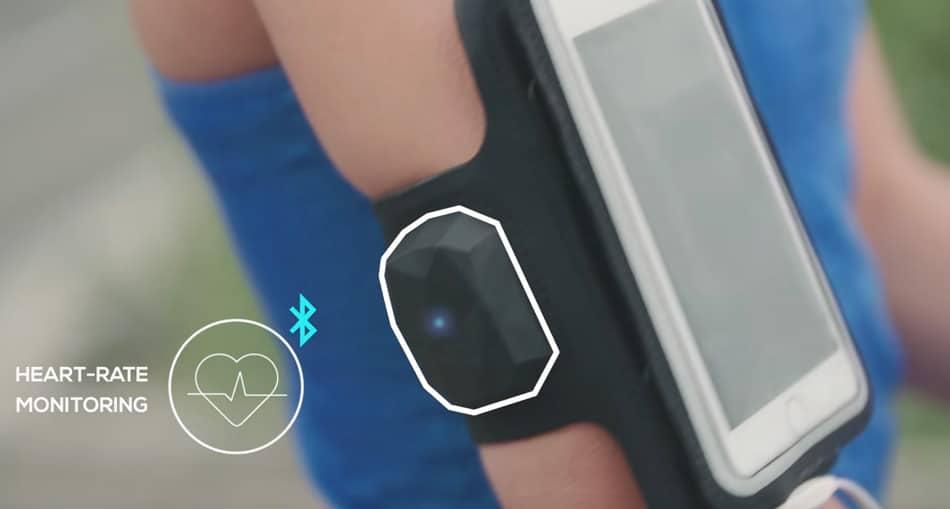 brazaletes para el móvil con sensor de pulso