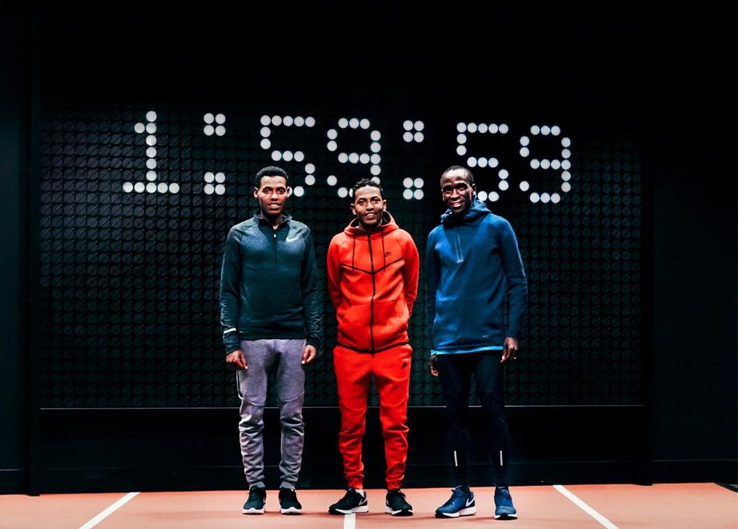 finest selection 26740 b021e Breaking2  el reto de Nike para bajar de 2 horas en Maratón