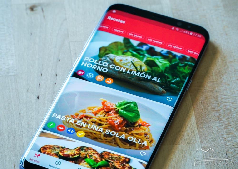 Runtasty, la aplicación con recetas fitness y alimentación saludable