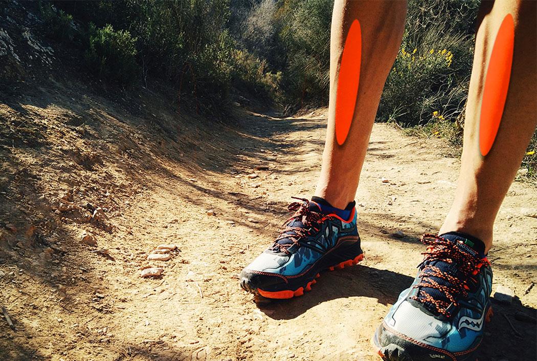 En correr al la de dolor agudo los pantorrilla músculos