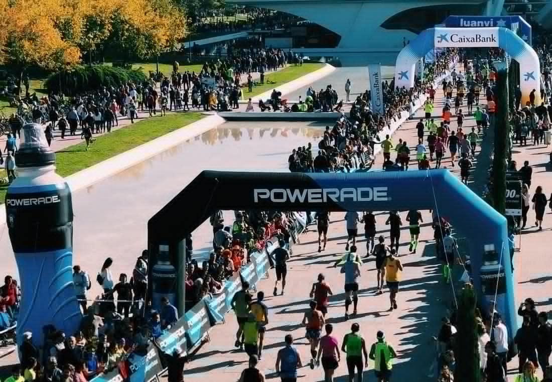 Recuperación tras maratón