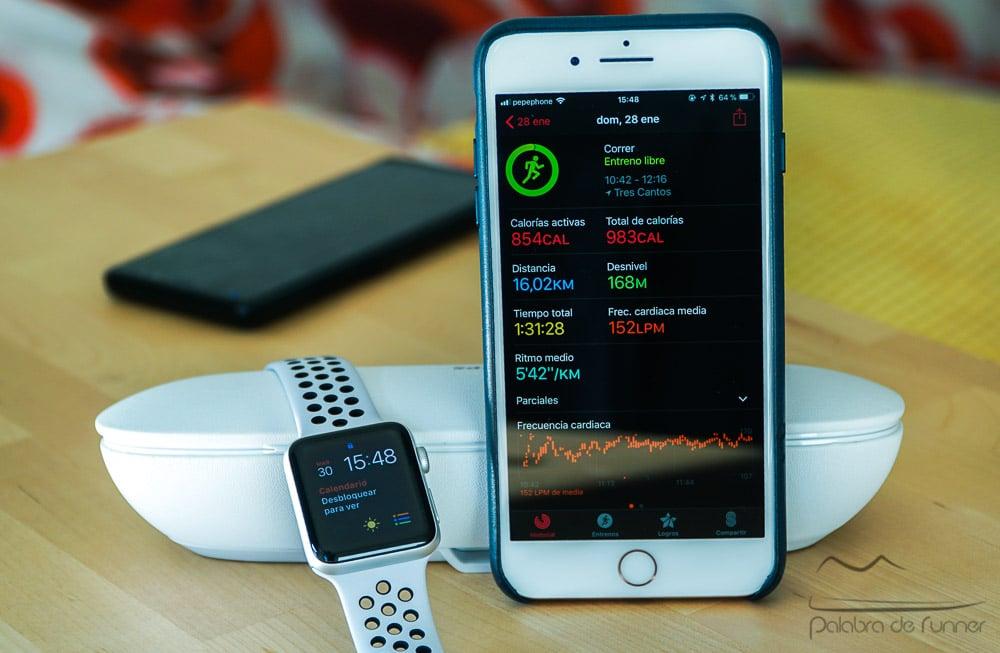 app de entrenamiento para apple watch