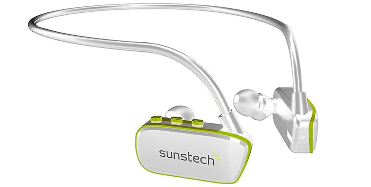 auriculares para piscina sunstech