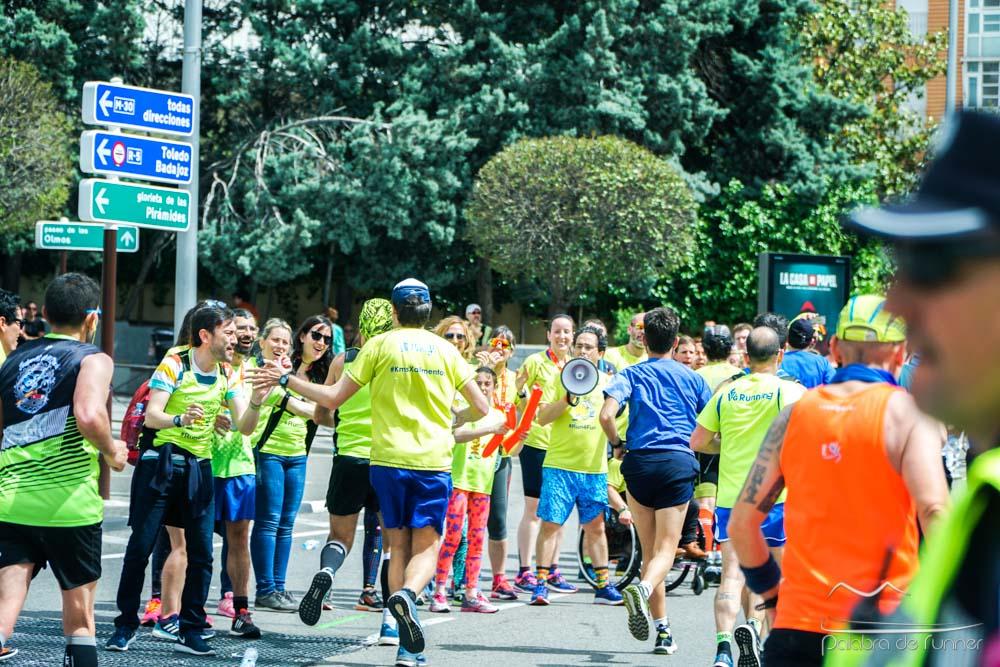 fotografias de la maraton de madrid 2018