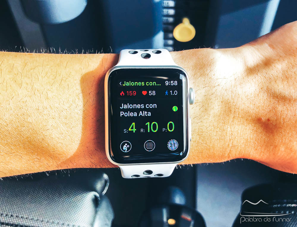 smartgym app gimnasio en apple watch