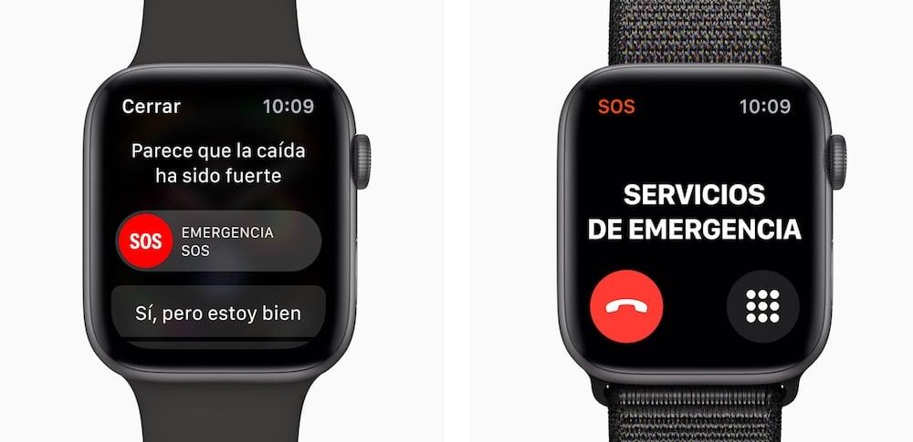 deteccion caidas apple watch