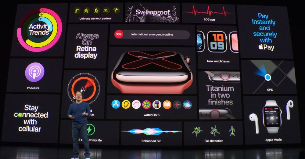 apple watch series 5 novedades