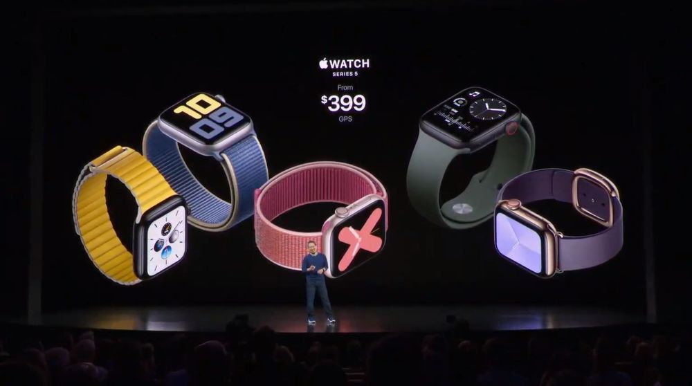 apple watch series 5 precio