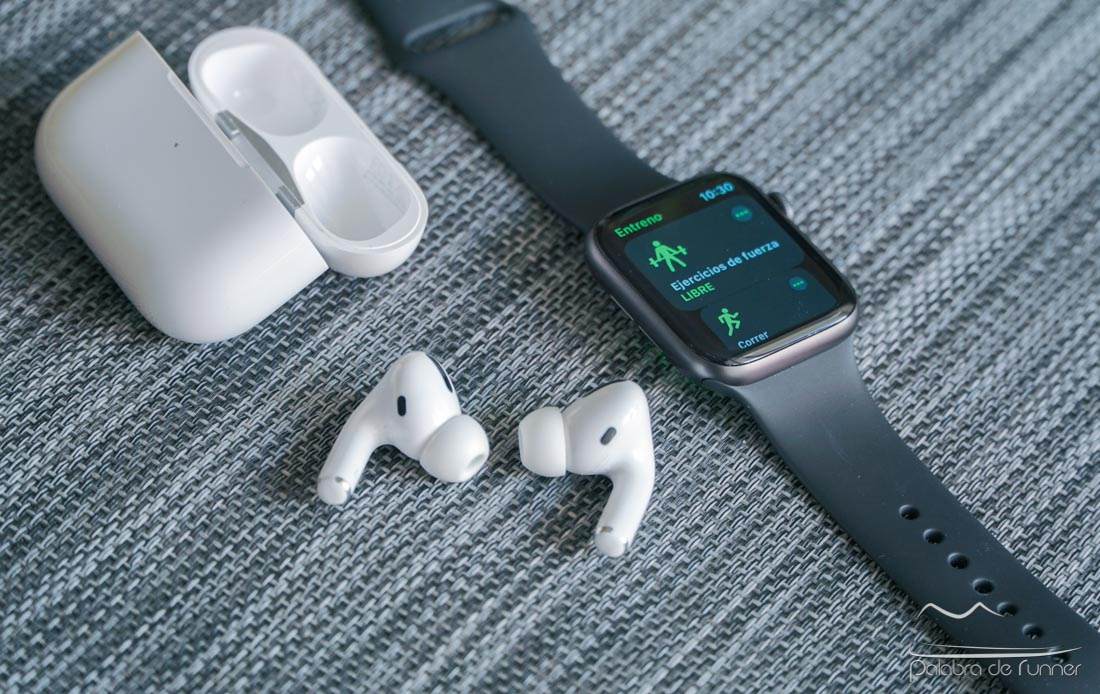 AirPods Pro y Apple Watch