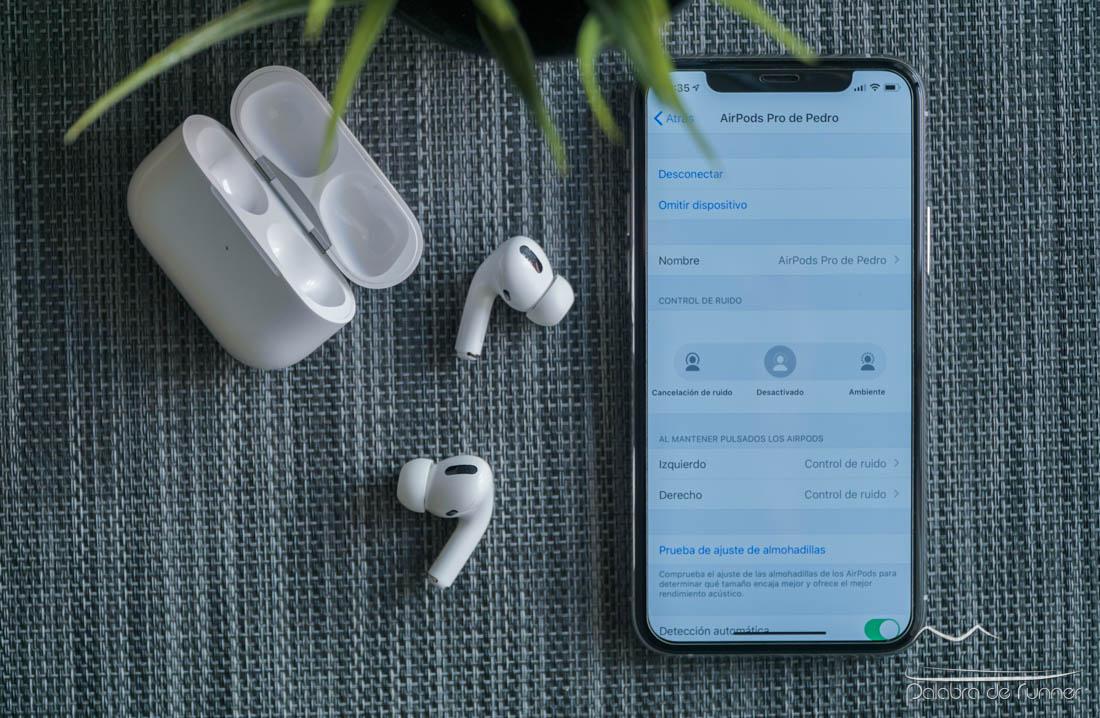 Apple AirPods Pro configuracion de la cancelación de ruido