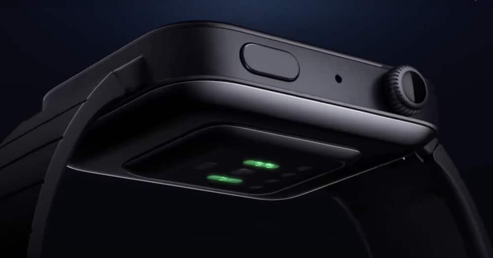 sensor óptico del Xiaomi Mi Watch
