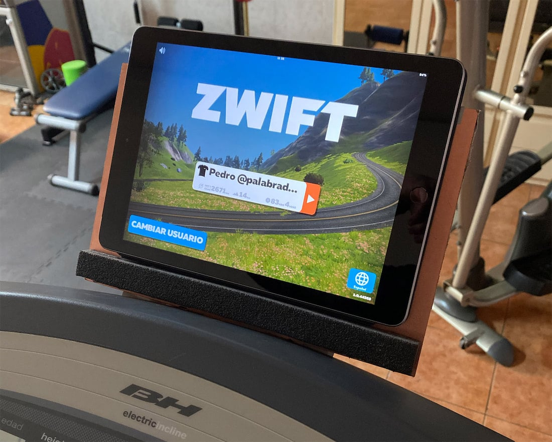 zwift run en ipad