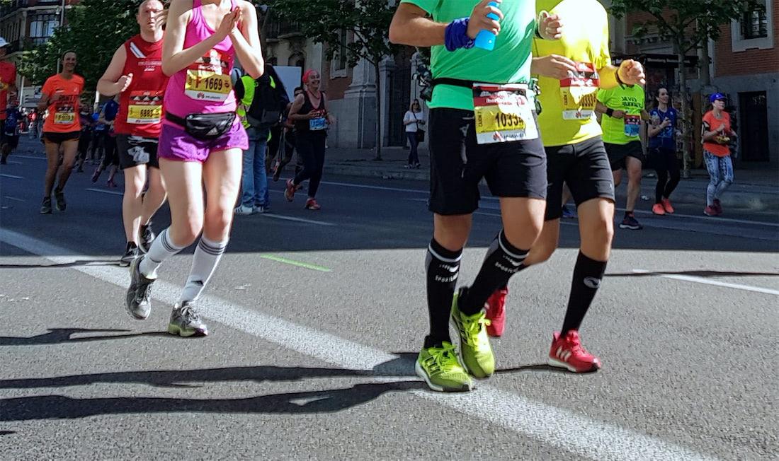 calcetines de compresión para correr