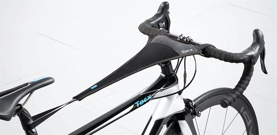 protector de sudor para cuadro bicicleta