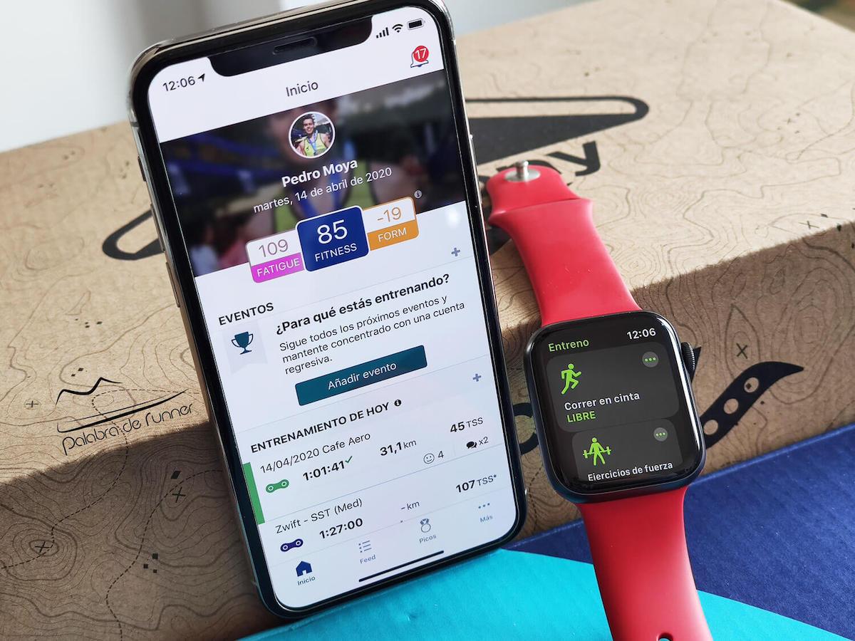 sincronizar apple watch trainingpeaks