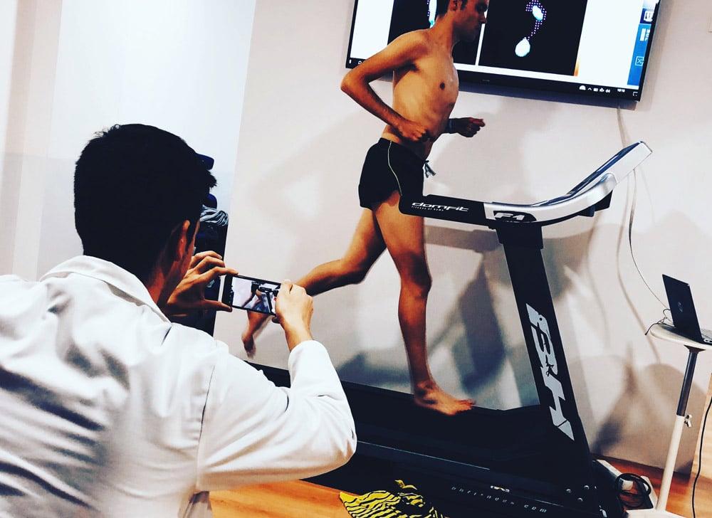 tecnica de carrera al correr en cinta