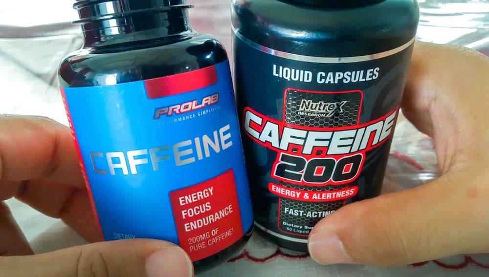 pastillas de cafeina anhidra