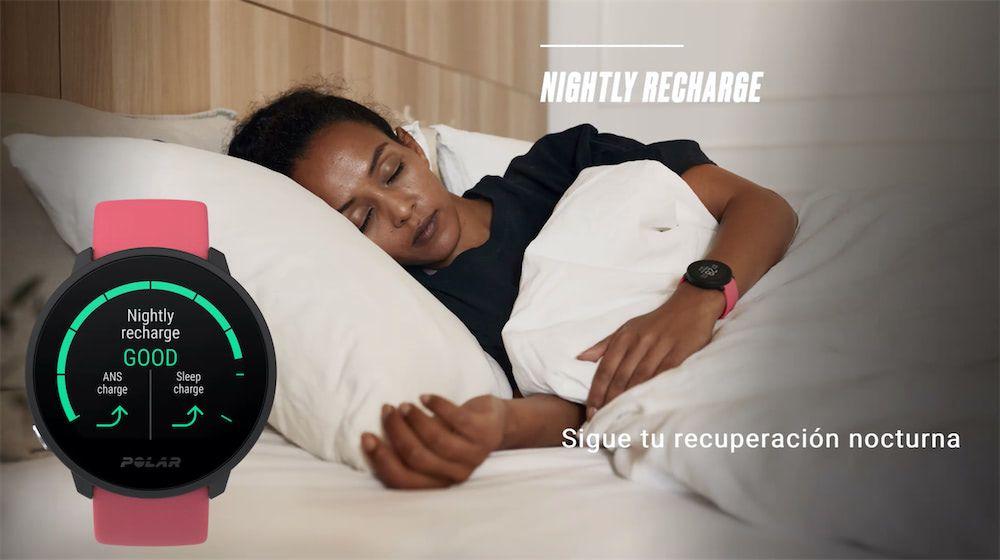 Polar Unite recuperador Nightly Recharge
