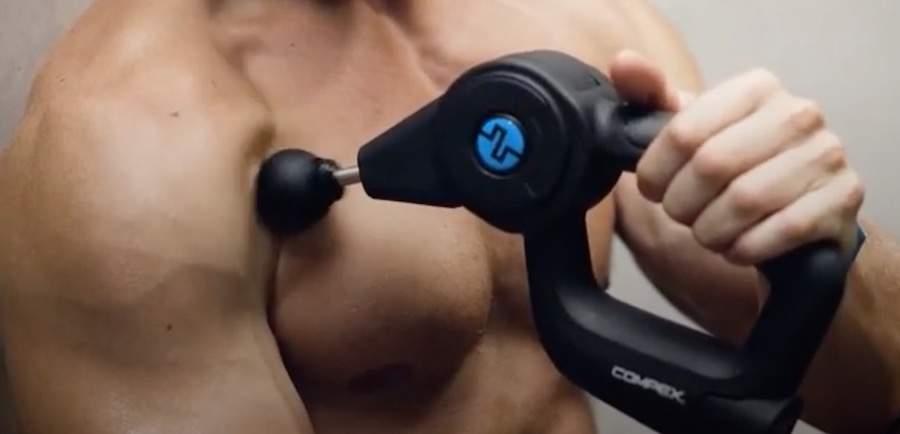 compex fixx pistola de masaje