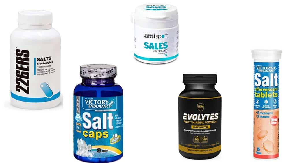 capsulas de sales minerales y pastillas