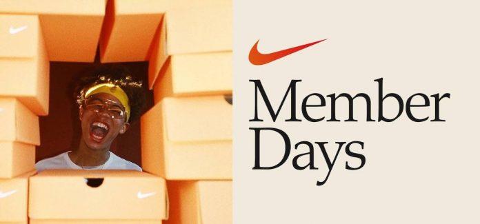 nike member days ofertas