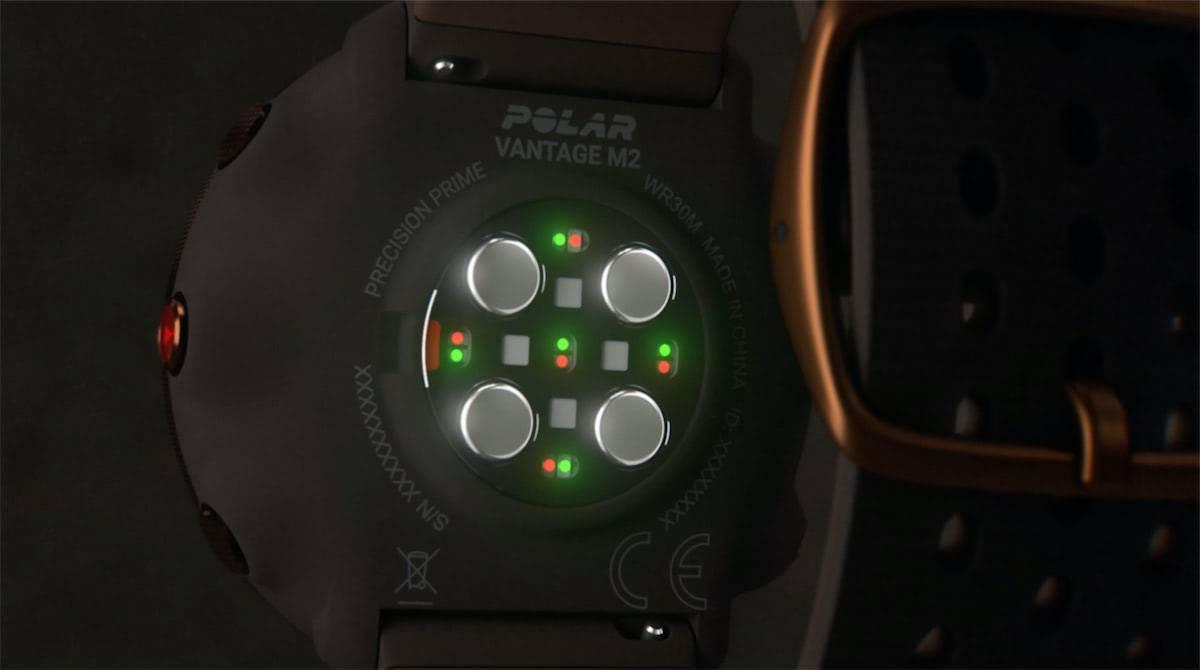 polar vantage m2 precision pulso prime optico
