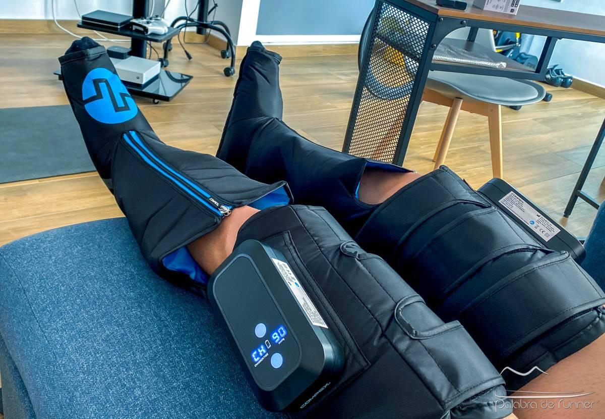 Compex Ayre review botas de recuperación