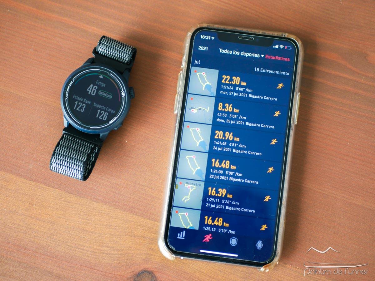 Aplicación Coros en smartphone