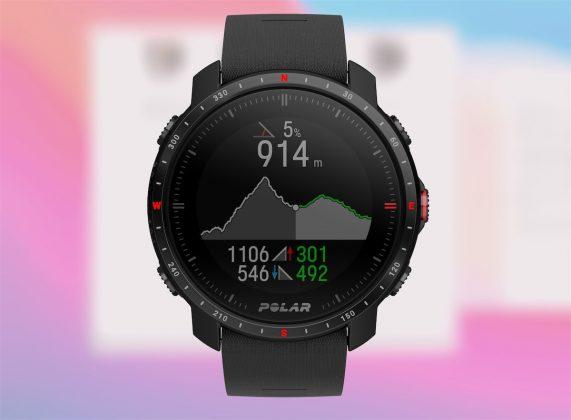 Polar Grit X Pro - perfil altimetría